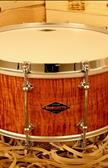 Tarola Craviotto Solid Curly Maple Aros Single Flange